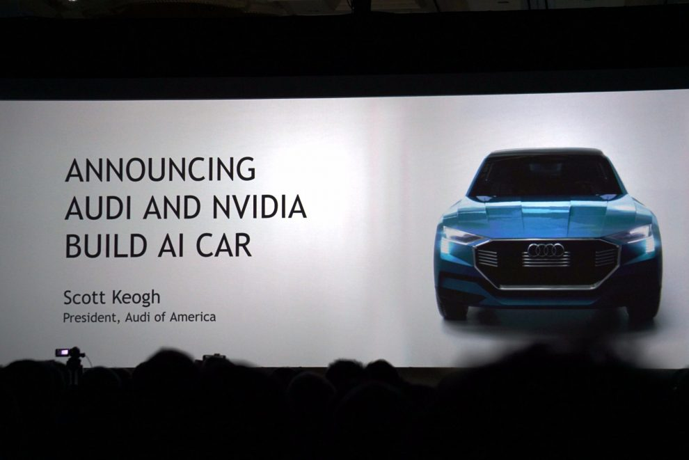 Nvidia and Audi Shake Hands to Introduce Their Autonomous Car By 2020
