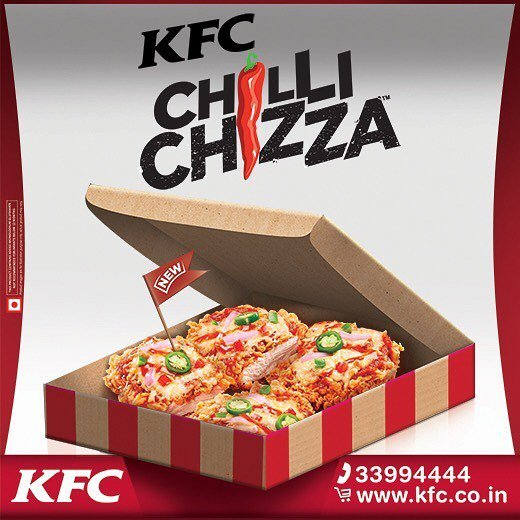 #SorryPizza: KFC's Chilli Chizza Taking Over Pizza In Its New TVC