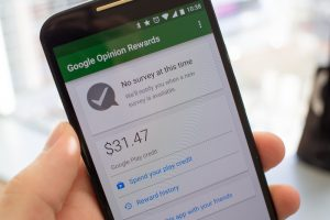 The release of survey app, Google Opinion Rewards, in India