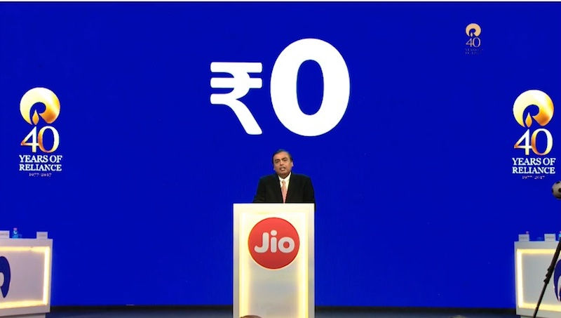 Reliance Jio tops Trai's average monthly speed test chart for July