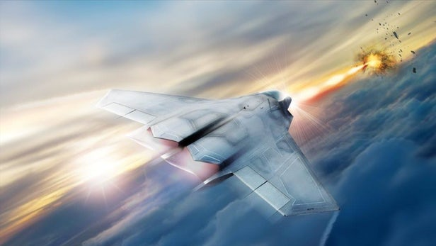 Lockheed Martin To Make Airborne High-Energy Laser For Fighter Planes